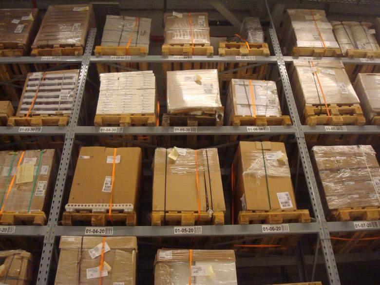 almacenamiento logistica